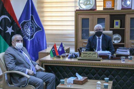 اجتماع مصلحة الجمارك مع وزارة الداخلية