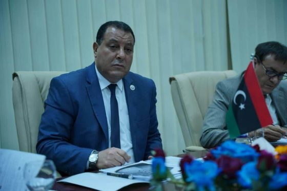 اجتماع تقابلي بين مدير عام مصلحة الجمارك  ورئيسة بعثة الإتحاد الأوروبي لدى ليبيا